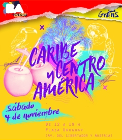 Mañana, Buenos Aires celebra el Caribe y Centroamérica