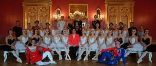Función gratuita de Ballet al más alto nivel en Parque Centenario