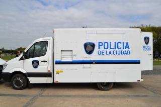 Camiones especiales para la deteccion de pruebas delictivas