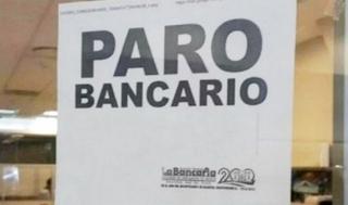 Mañana paran cinco bancos oficiales