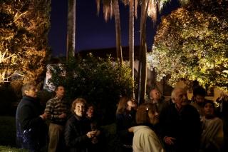 Las noches en el Jardín Andaluz del Museo Larreta
