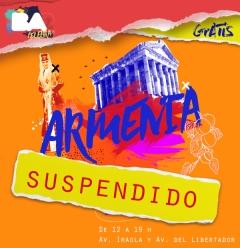Buenos Aires Celebra Armenia, suspendido