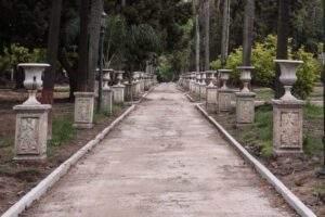 El Parque Lezama y los espacios sobre la Av Paseo Colon