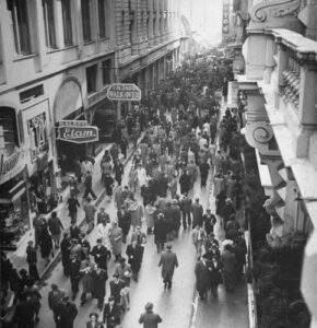 La calle Florida en 1943
