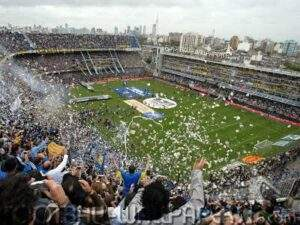 Rito de paso: Juega Boca Juniors