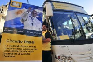 Circuito Papal en Buenos Aires
