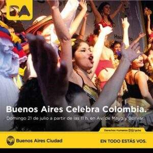 Buenos Aires Celebra a Colombia
