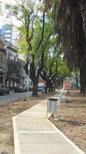 Siete nuevas cuadras verdes en Comuna 10