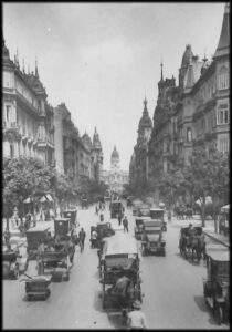 La Avenida de Mayo en 1914
