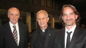 Monseñor Poli en Rosh Hashaná