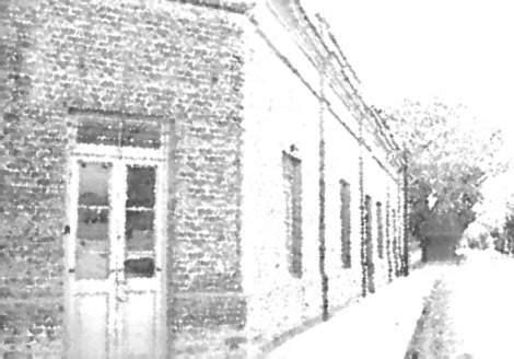 Buenos Aires 1847:  Casas Rojas (Samuel Greene Arnold)