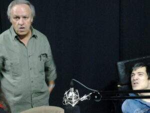 "Carlos Mello con César ""Banana"" Pueyrredón"