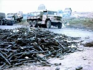 Capitulación en Malvinas: La primera bisagra