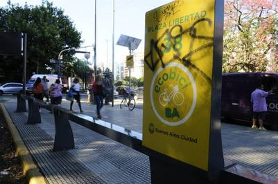 Las bicis públicas, con más seguridad por los robos