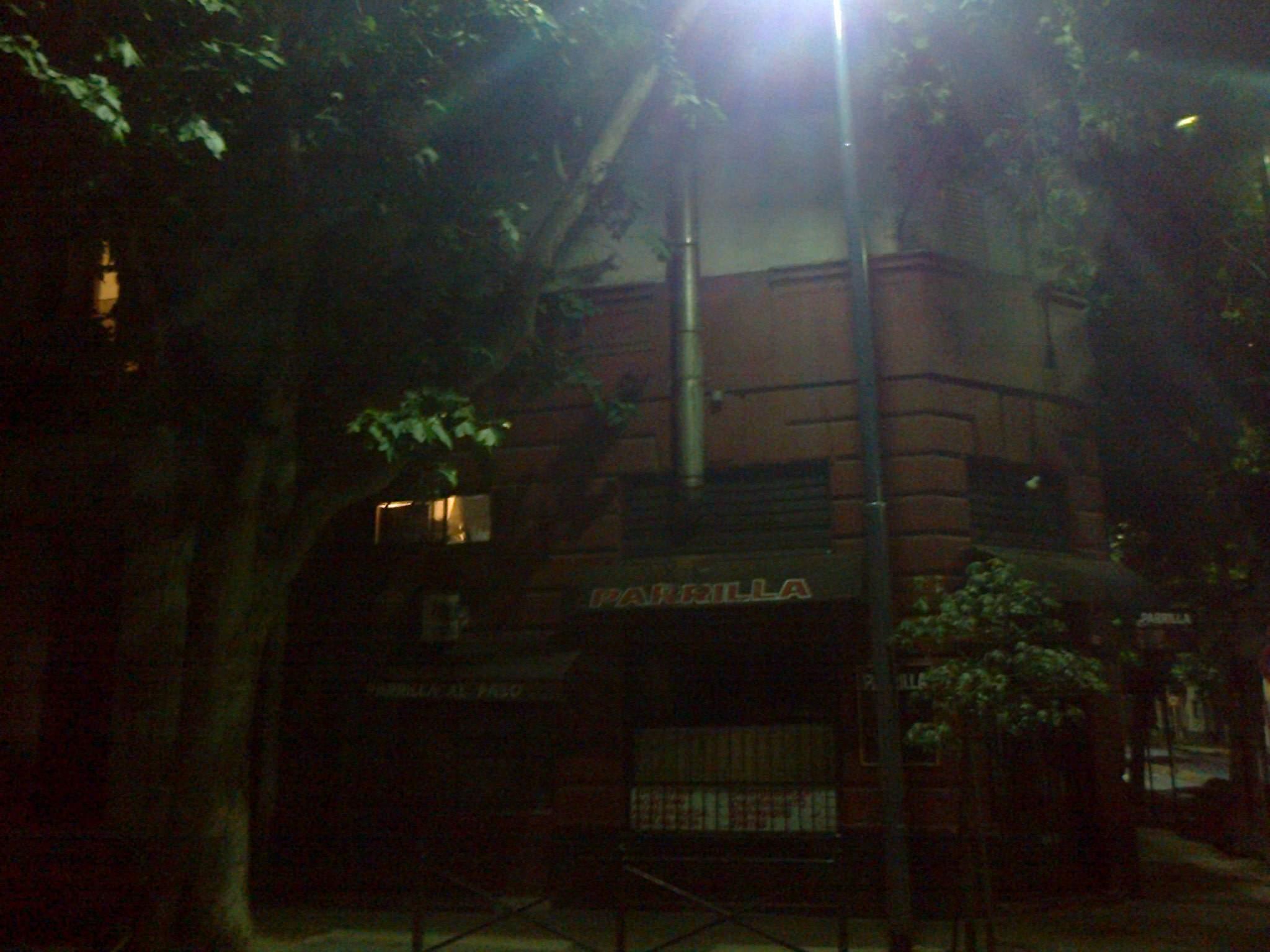 Las luminarias por encima del nivel de las copas de los árboles no pueden cumplir su función.
