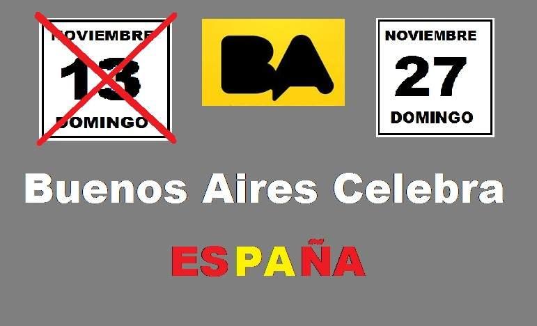Buenos Aires Celebra España, suspendido por tercer año consecutivo