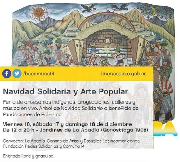 Navidad Solidaria en Palermo