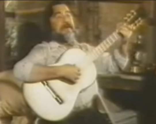Horacio Guarany, en 1973