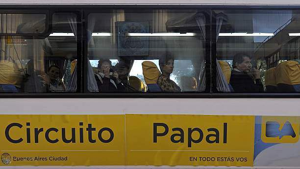Bus utilizado para el recorrido