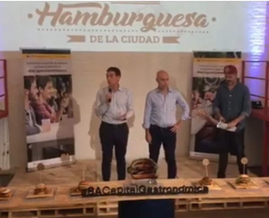 La Mejor Hamburguesa de la Ciudad: Participaron de la premiación Rodríguez Larreta y Santilli
