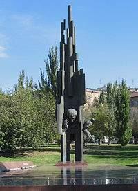 Monumento al poeta en la Plaza se llamará República Argentina, en la Capital Armenia.
