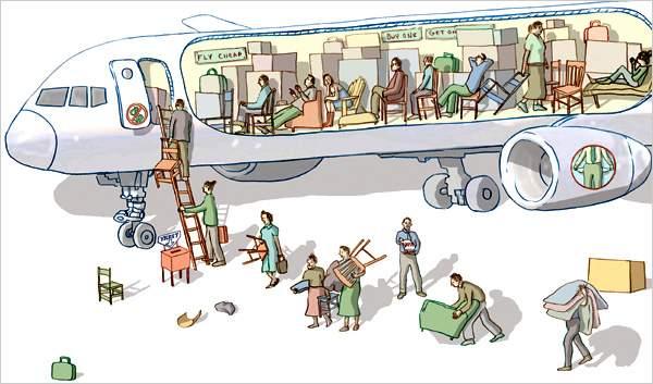 La mayoría de los vuelos de bajo costo serán caros