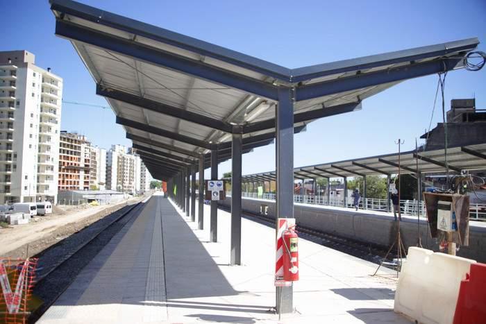 Avanza obra en el Ferrocarril Belgrano Sur