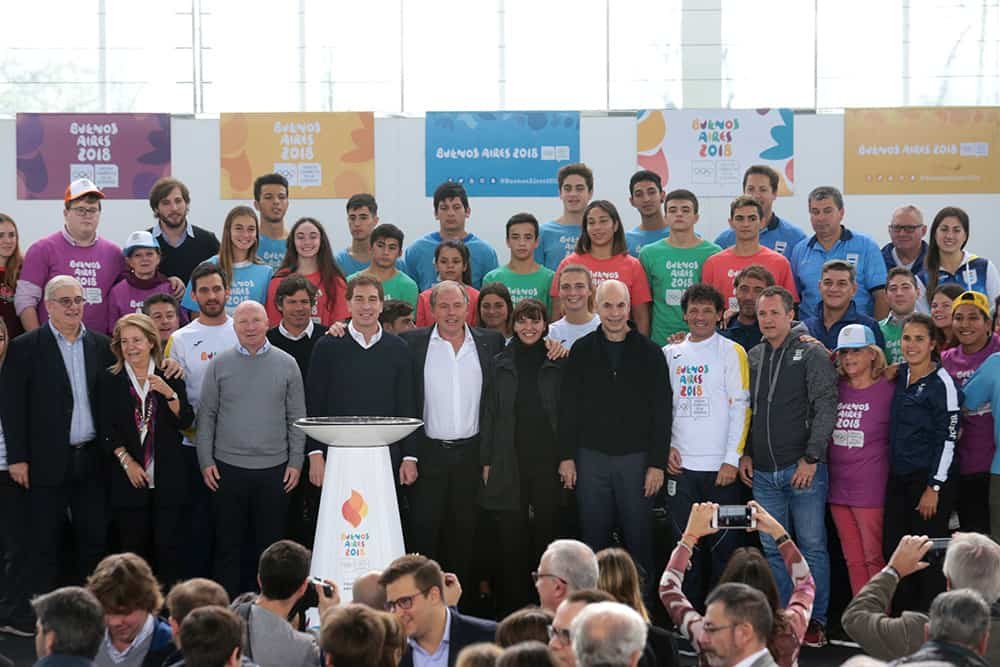 La Antorcha Olímpica de Buenos Aires 2018 ya está entre nosotros