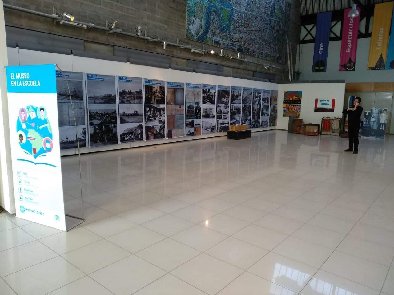 Detalles de la muestra del Museo de la Inmigración en Villa 21-24