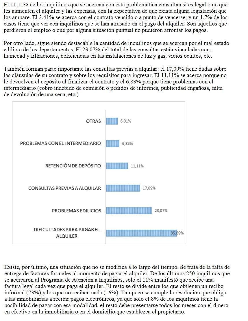 Informe de la Defensoría del Pueblo de la Ciudad de Buenos Aires